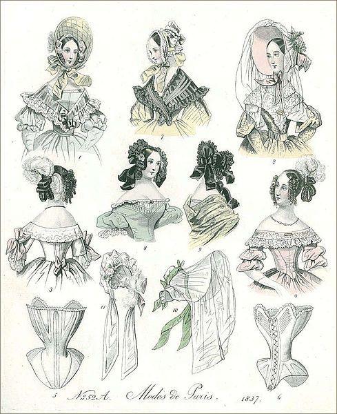 Moda paryska 1837