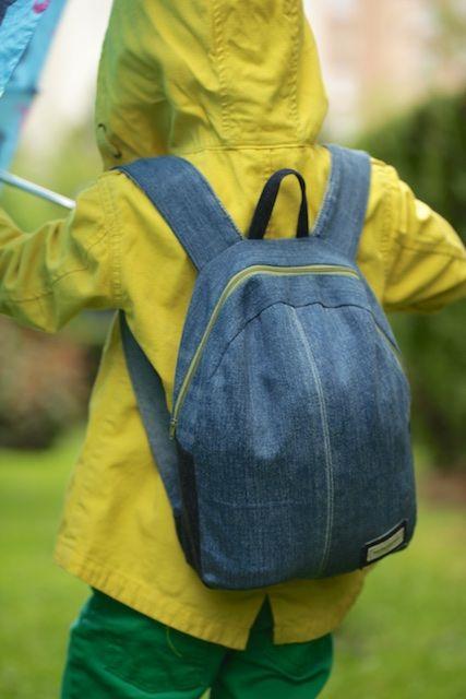Baybars henüz ikibuçuk yaşındayken diktiğim sırt çantası küçüldüğ…