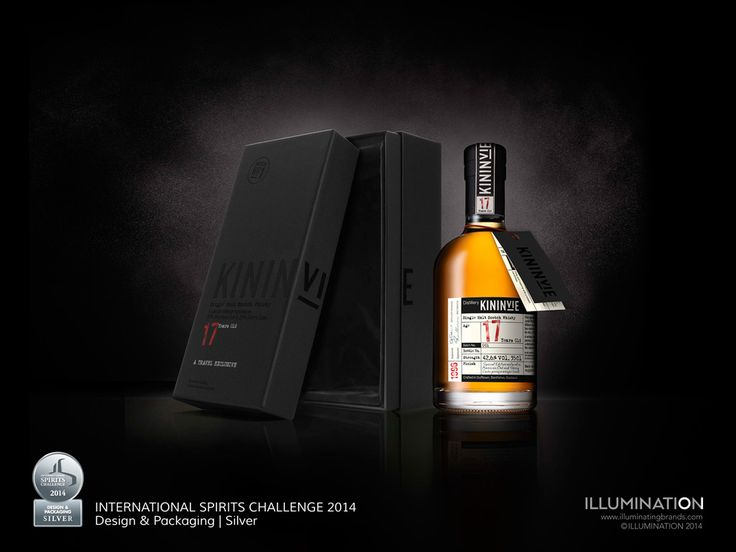 Kininvie 17 for William Grants & Sons designed by illumination