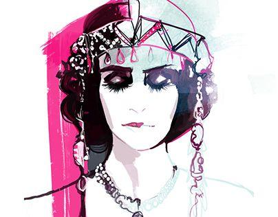 "Check out new work on my @Behance portfolio: ""fashionillu_46"" http://be.net/gallery/55471197/fashionillu_46"