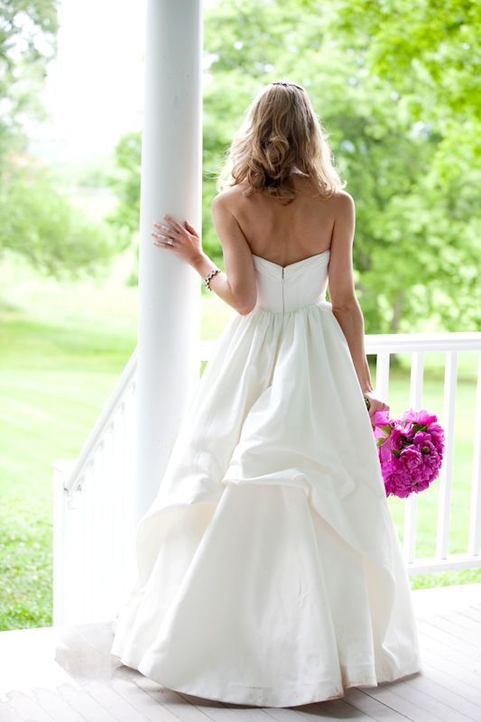 wedding dresses bustles | How to Bustle a Wedding Dress | Chic Gowns