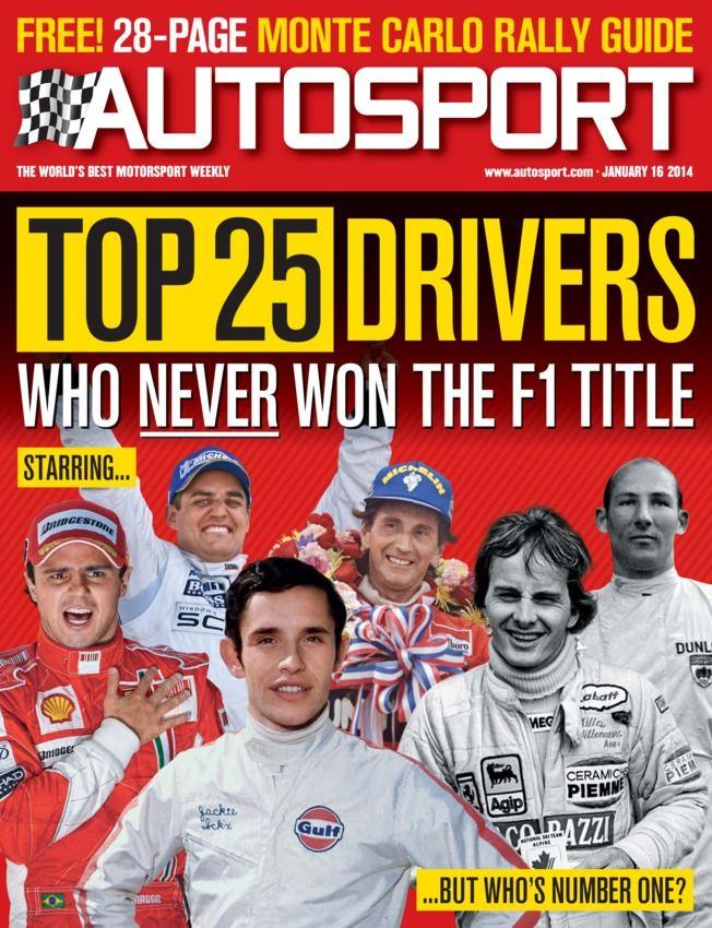 formula 1 driver numbers 2014