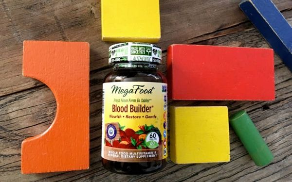 Blood Builder delivers iron in nutritional yeast (Saccharomyces cerevisiae if you want to get specific!). That means it's delivered with essential amino acids, carbohydrates, and proteins that iron would naturally be found with in plants