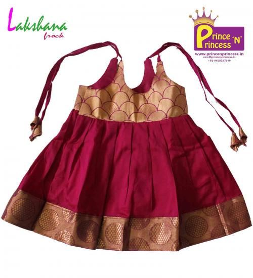 New Born Toddler kids traditional frock For more details www.princenprincess.in