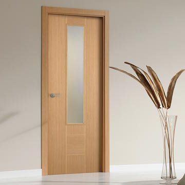 Making careful use of the worlds natural resources and re-using all the waste product to produce the stunning consistent grain within the beautiful prefinished SanRafael Lisa style K09V reconstituted oak veneered glazed fire door. #directdoors
