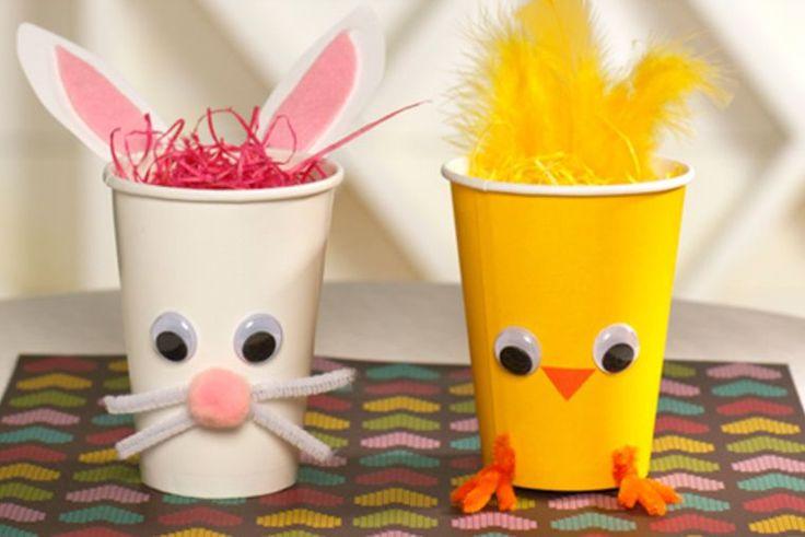 10 bricolages de Pâques                                                       …