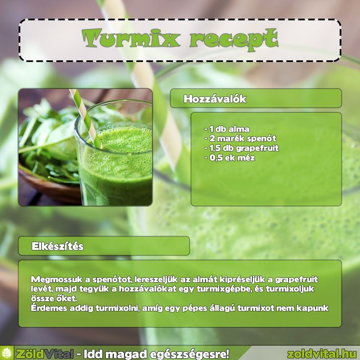 Így készíthetsz egyszerűen egy finom zöldturmixot #turmix #recept