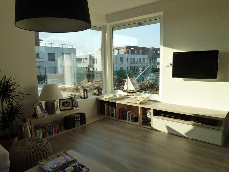 obývacia izba s nábytkom na mieru/living room
