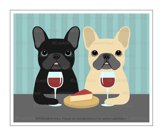 French Bull Dogs Make Me Happy Shot Glass Dog Lover Gift Idea