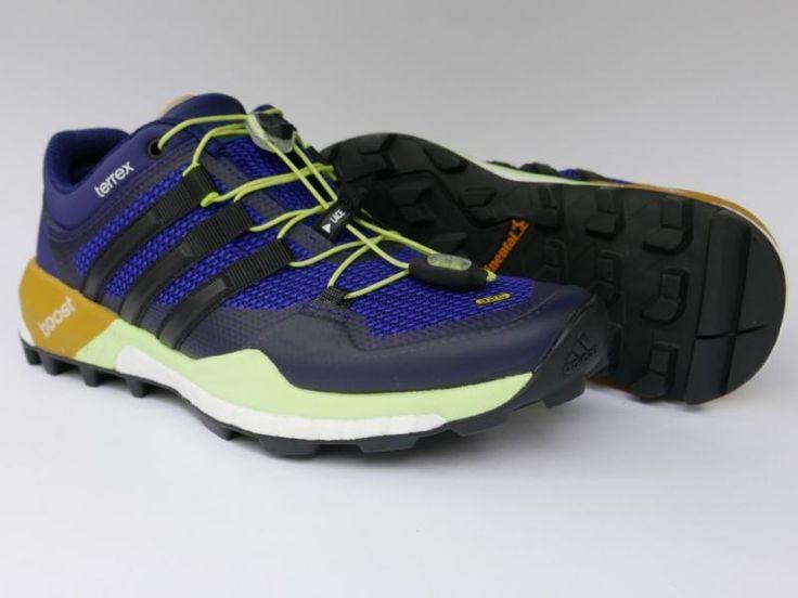 Adidas Terrex Boost B44544 buty outdoorowe ze zwracającą energię technologią boost™ sprawdzą się podczas intensywnych biegów górskich i pieszych Lekka siateczkowa cholewka z przewiewnym, wygodnym językiem z pianki EVA sprawią, że pokonasz własne granice w tych butach Podeszwa zewnętrzna z gumy Continental™ ma wzór inspirowany oponami rowerowymi, zapewniając niezwykłą przyczepność na mokrym i śliskim podłożu Buty te dostępne są od ręki w naszym sklepie internetowym - wysyłka w 24h!