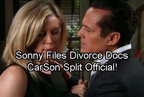 General Hospital Spoilers: Sonny Files For Divorce, Diane Preps CarSon Divorce Papers - Sonny Calls Carly's Bluff | Celeb Dirty Laundry