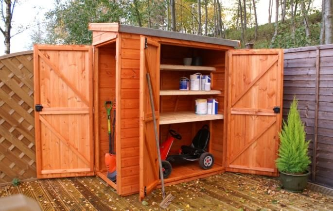 Wooden Garden Sheds | Security Pent | garden play houses from Birmingham » Jacksons » The Experts For Sectional Garages - Timber Garden Buildings - Metal Sheds