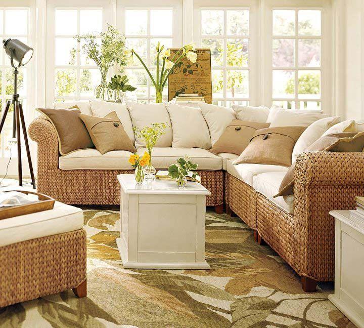 Wicker furniture beach house pinterest for Furnishing a beach house
