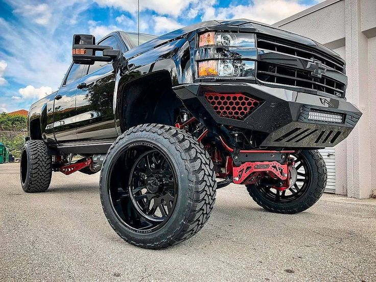 Lifted Truck Suspension Parts - Chevy 2500HD •