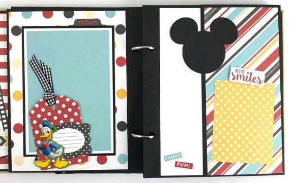 Disney Scrapbook Album Kit or Premade Vacation 24 by ArtsyAlbums