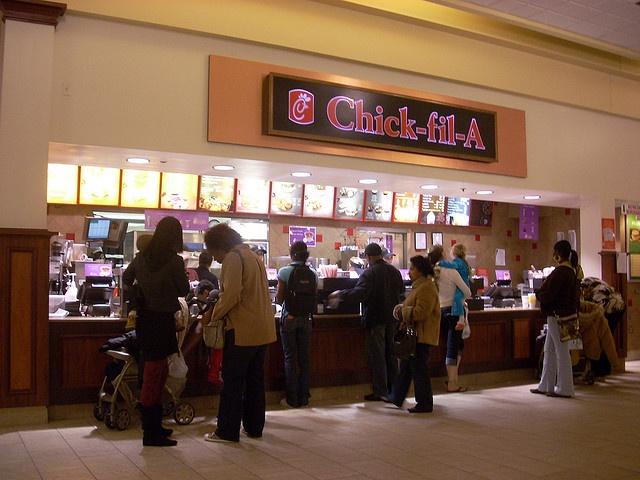 Chick-fil-A in Patrick Henry Mall by RetailByRyan95, via Flickr