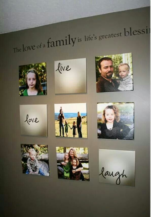 Live, Love, Laugh family pictures