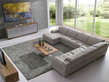 Boston G9538 Recliner Leather Lounge. With a multitude of combinations to choose from, including reclines, chaise or corner pieces, this comfortable lounge would make a great addition to your family environment.