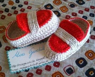Zapatos de ganchillo: Fotos de zapatos para bebés (16/20) | Ellahoy