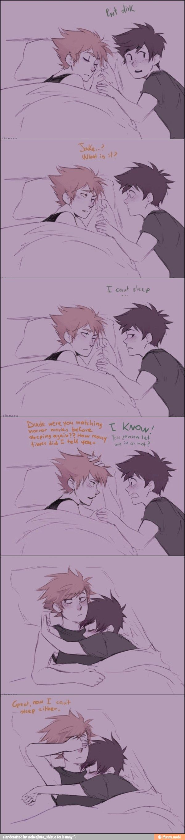 I'm shipping this so hard *0* that is the face I made at this, tho if u could add blushing Power their u have it *~0~* wth