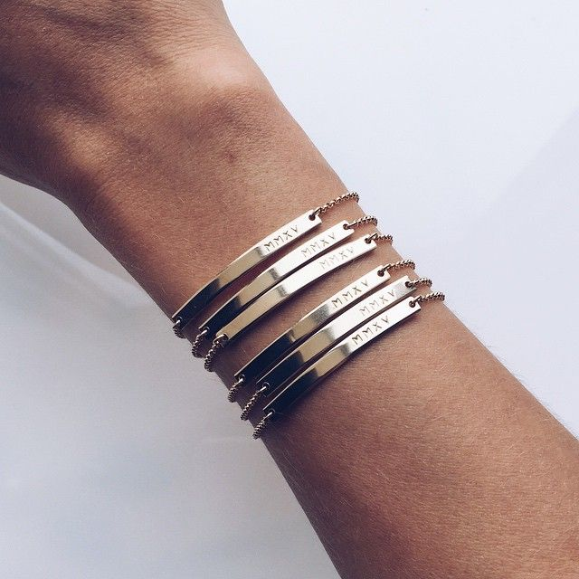 MADE BY MARY gold bracelets