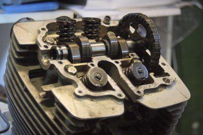 Engine Camshaft Yamaha SRX600 Reborn.Gazzz-garage