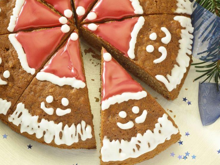 Honigkuchen zu Weihnachten | Zeit: 35 Min. | http://eatsmarter.de/rezepte/honigkuchen-zu-weihnachten