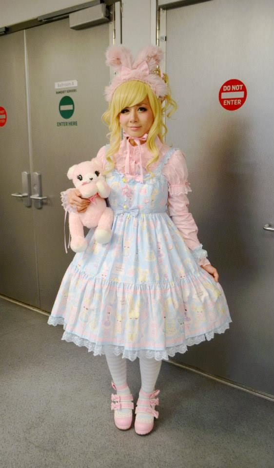 414 Best Japanese Lolita Fashion Images On Pinterest -3494