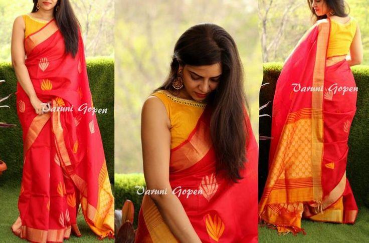 varuni gopen saree blouse collection – boutiquesareeblouse.com