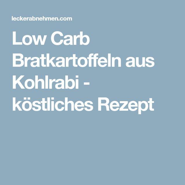 Low Carb Bratkartoffeln aus Kohlrabi - köstliches Rezept