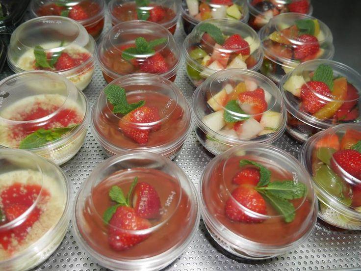 W grudniowy czas Moje Słoiki rozgrzewają podwójnie: gorącymi daniami oraz... deserami, które przypomną nam lato :-)