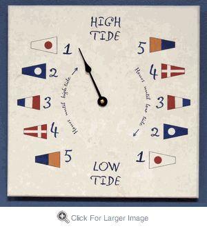 tide clock click to enlarge - Tide Clock