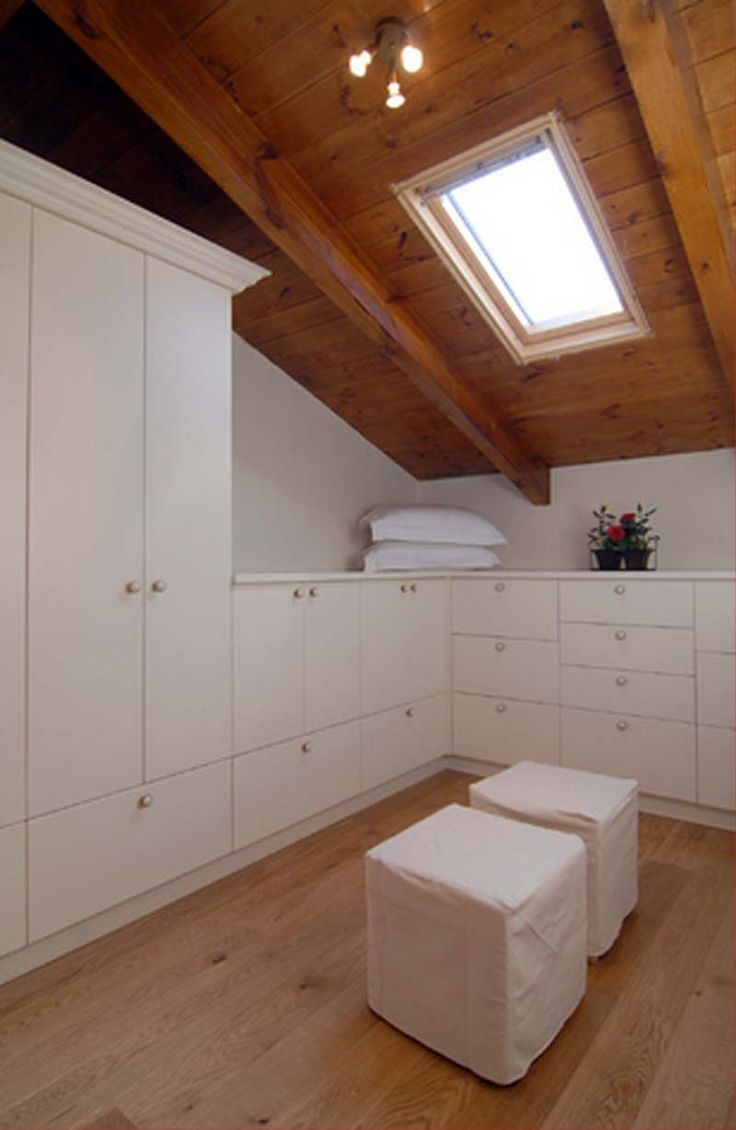 Attic storage dressing rooms and storage spaces on pinterest