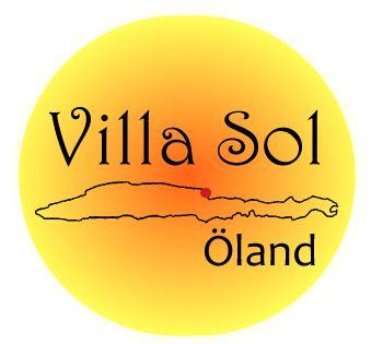 Villa Sol - logotype made by Orangia AB