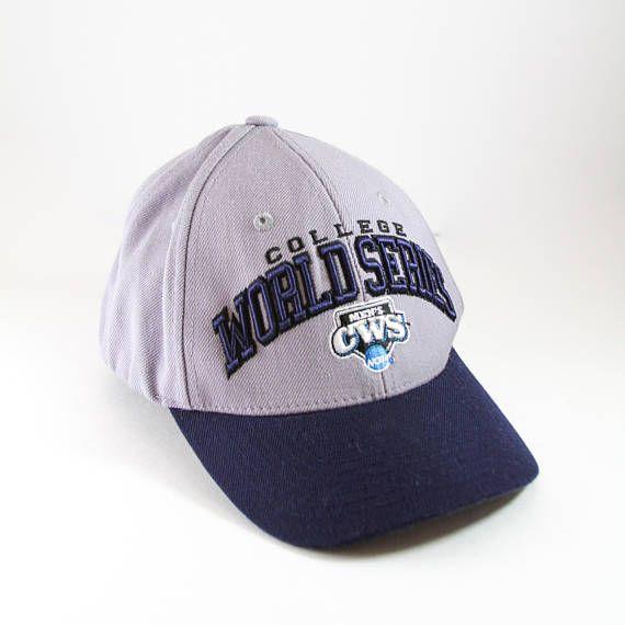 2014 College World Series Baseball Cap // CWS NCAA Division I Baseball Tournament Hat // Vanderbilt Commodores Winner