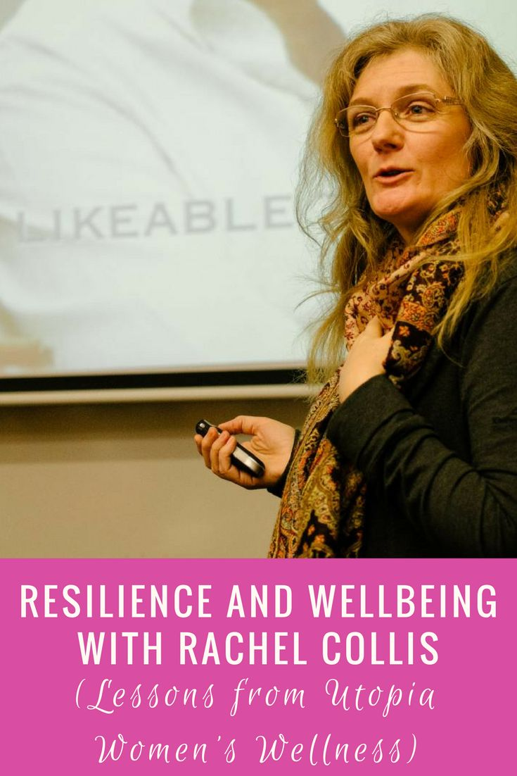 In Lesson 3 from Utopia Women's Wellness I discuss the main takeaways from the session run by Rachel Collis about resilience.