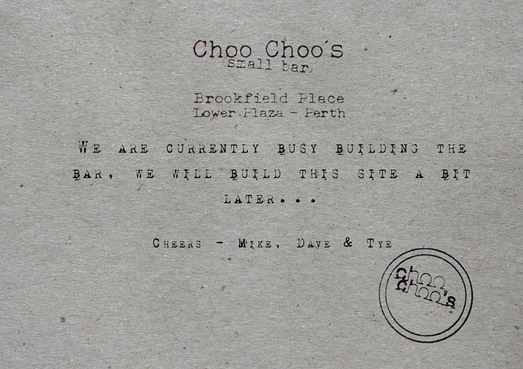 Choo Choo's - cool little bar, the guys know their drinks. good alternative to printhall/bobeche when you need a change