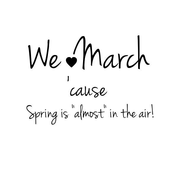 .March
