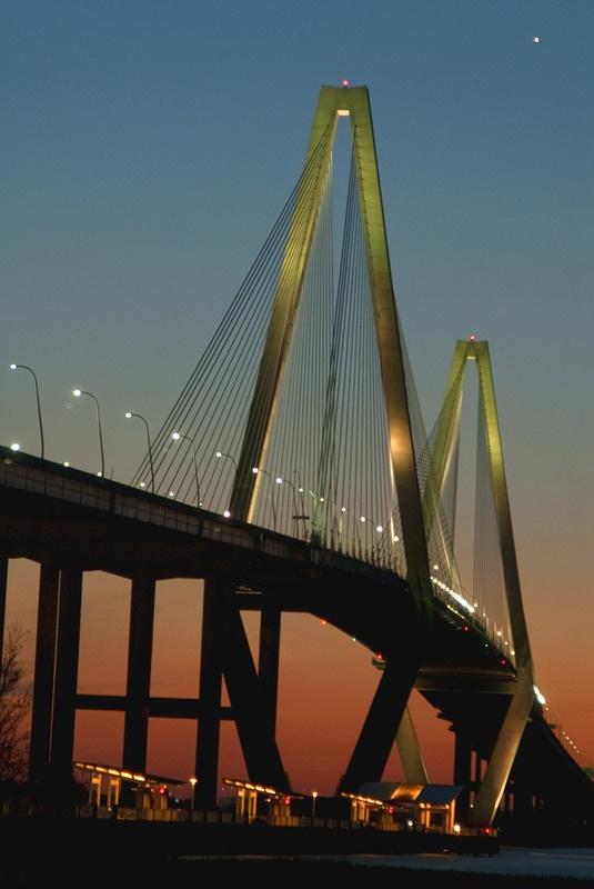 Arthur Ravenel Bridge over the Cooper River