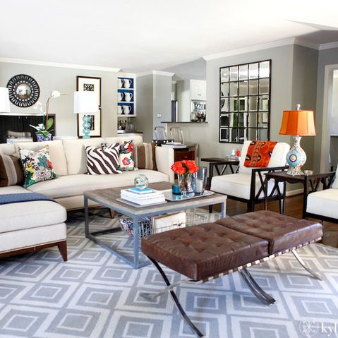 Eclectic Family Room Design Ideas, Pictures, Remodel and Decor