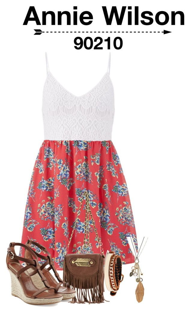 """90210 Annie Wilson"" by seen-on-tv ❤ liked on Polyvore featuring maurices, Mudd, Burberry, GUESS, 90210 and anniewilson"