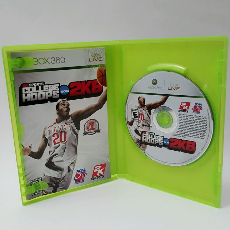 College Hoops 2K8 (Microsoft Xbox 360, 2007) NCAA Basketball, 2K Sports in Video Games & Consoles, Video Games | eBay