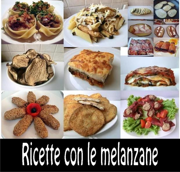 Ricette con le melanzane | Raccolta
