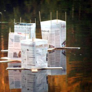 Lyktor i vattnet