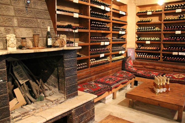Şirince village is famous for it's wine production.
