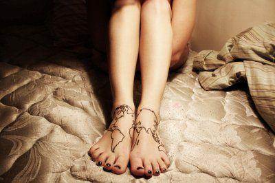 : Tattoo Ideas, Feet Tattoos, Maps, Foot Tattoo, Body Art, Tattoo'S, Map Tattoos, Awesome Tattoos, Ink