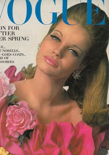 Veruschka. Photo by Irving Penn. Vogue, March 1965.