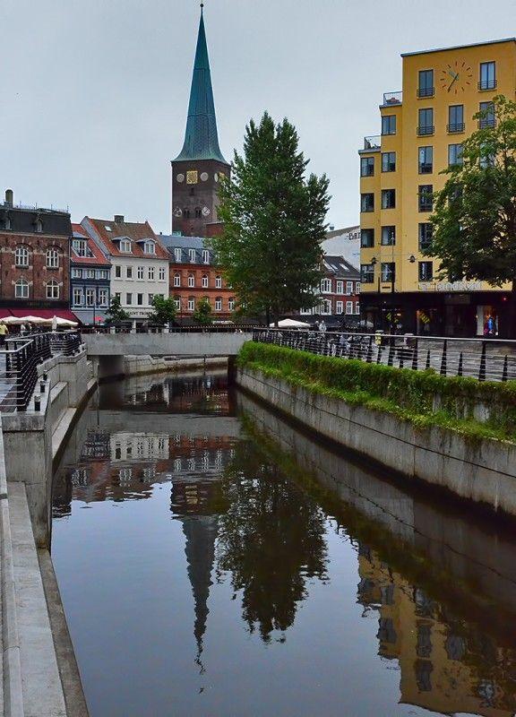 Aarhus Cathedral & Canal ~ Aarhus, Denmark