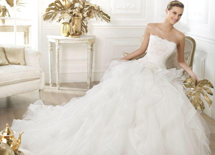 The 25 best pronovias wedding dresses ideas on pinterest glamorous pronovias wedding dresses 2014 dreams collection junglespirit Images