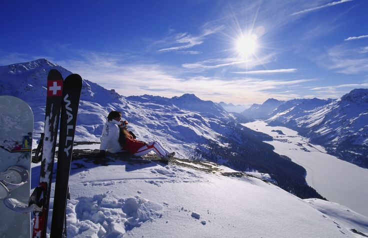 #Station de #Ski #StMoritz #Suisse 2
